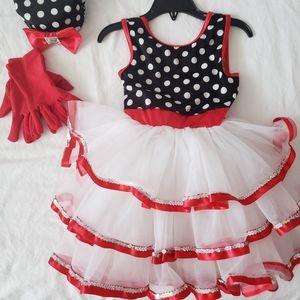 Dance costume dress.